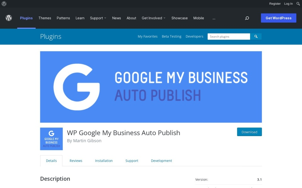 WP Google My Business Auto Publish WordPress Googleマイビジネス 連携