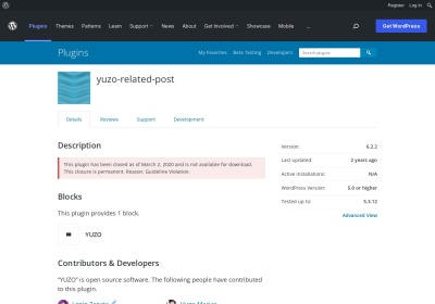 Related Posts – WordPress plugin | WordPress.org