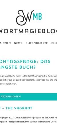 Screenshot von wortmagieblog.wordpress.com