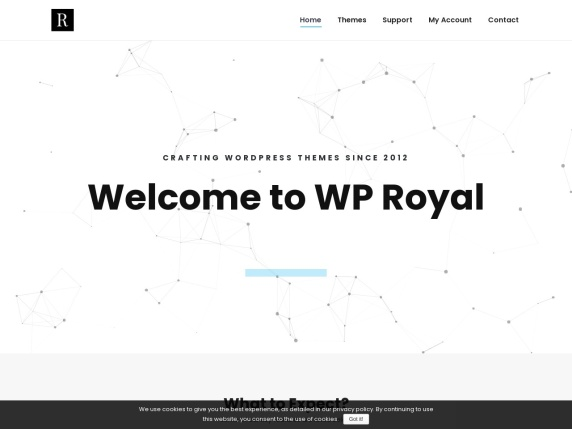 WP  Royal homepage