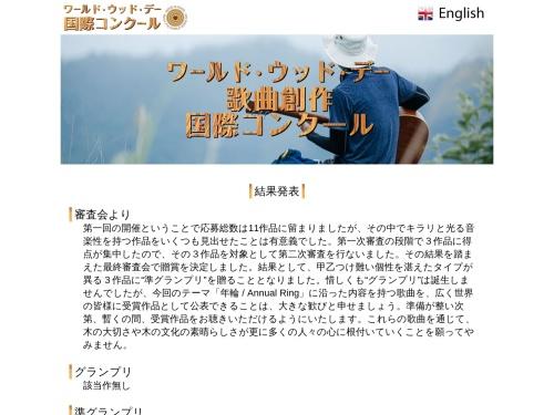 Screenshot of wwd-contest.com