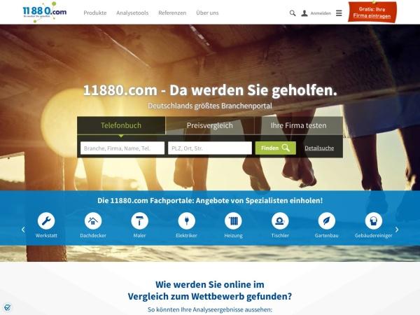 Suchmaschine 11880.com