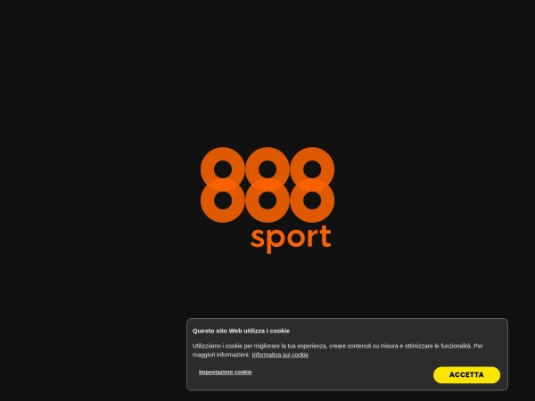 Screenshot of www.888sport.it