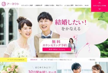 Screenshot of www.a-nect.jp