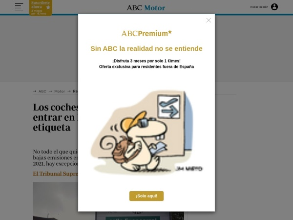 Captura de pantalla de www.abc.es