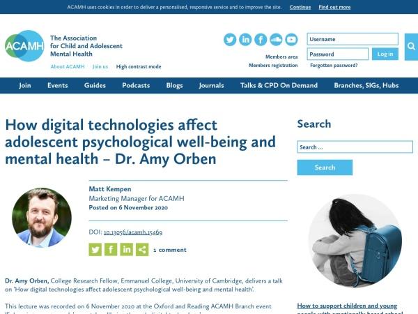 tech-adolescent-wellbeing-website