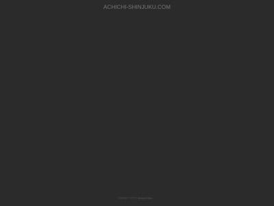 Screenshot of www.achichi-shinjuku.com