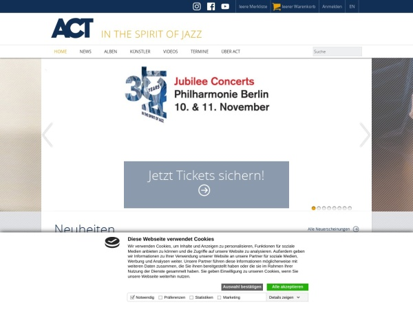 https://www.actmusic.com