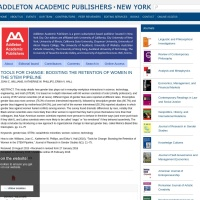Screenshot of www.addletonacademicpublishers.com