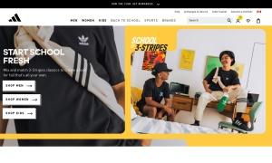 Adidas ウェブサイトサムネイル
