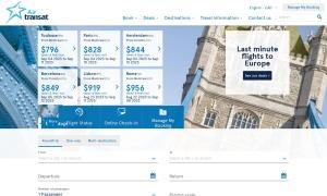 Air Transatウェブサイトサムネイル