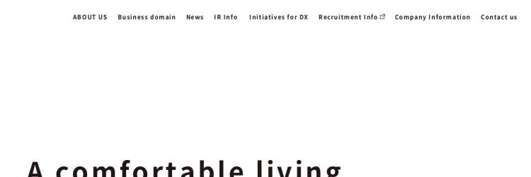 Screenshot of www.am-bition.jp