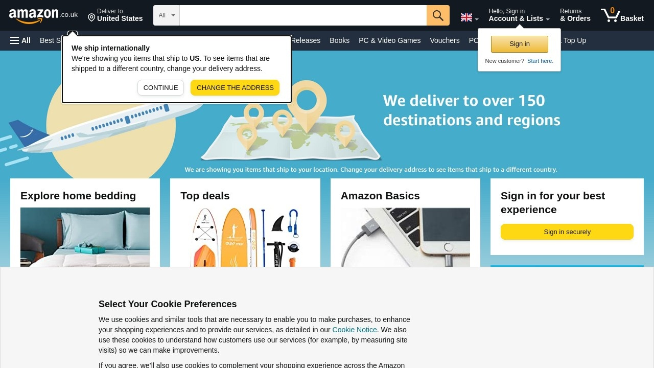 亚马逊英国站官网
