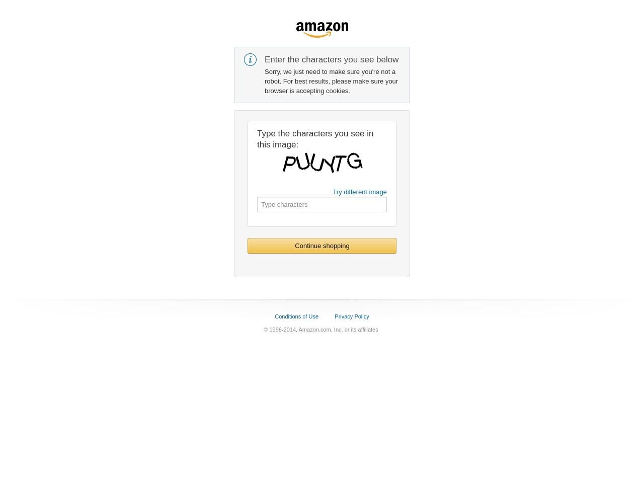 Captura de pantalla de www.amazon.com