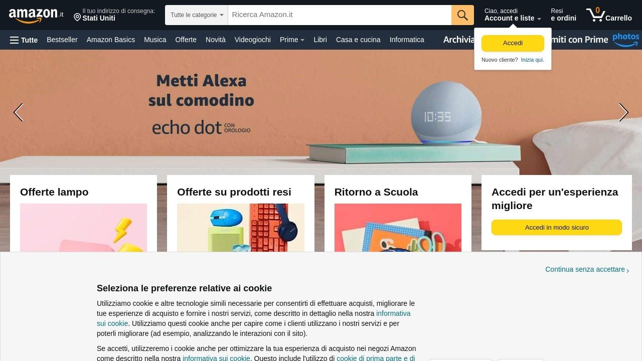 亚马逊意大利站官网