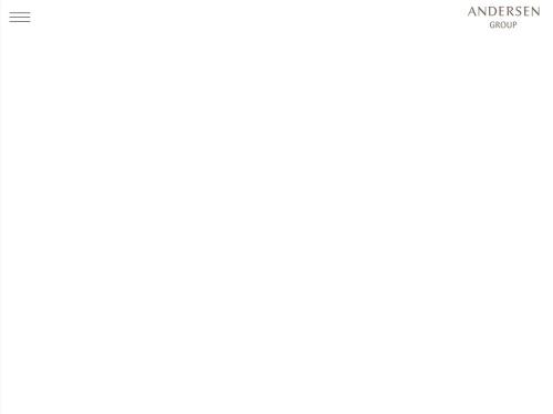 Screenshot of www.andersen-group.jp