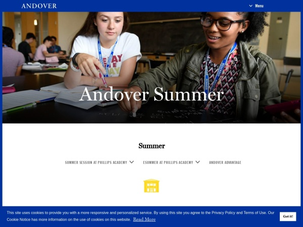 https://www.andover.edu/SummerSessionOutreach/MathScience/Pages/default.aspx