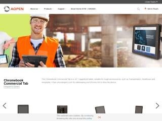 https%3A%2F%2Fwww.aopen-AOpenが「Chromebook Commercial Tab 10」を発表。商用で堅牢性重視、VESAマウント付き