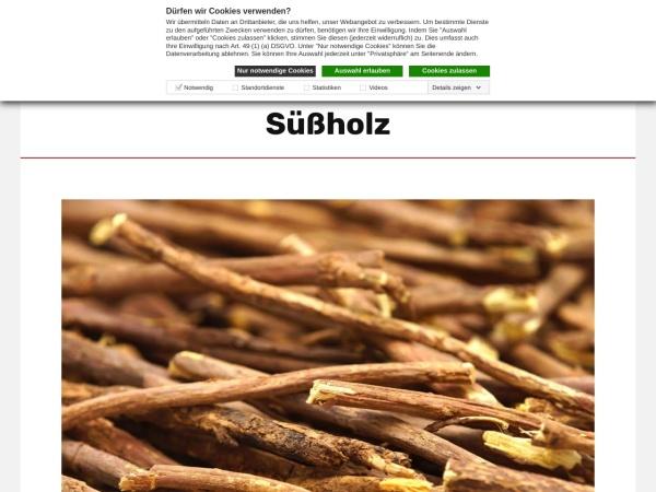 Screenshot von www.apotheken.de
