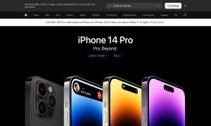 Apple Store Canada ウェブサイトサムネイル