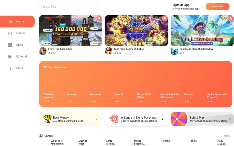 Aptoide 安卓市场