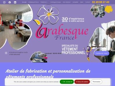 Atelier de fabrication et personnalisation de vêtements professionnels à Brionne