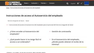 Instrucciones de acceso al Autoservicio del empleado