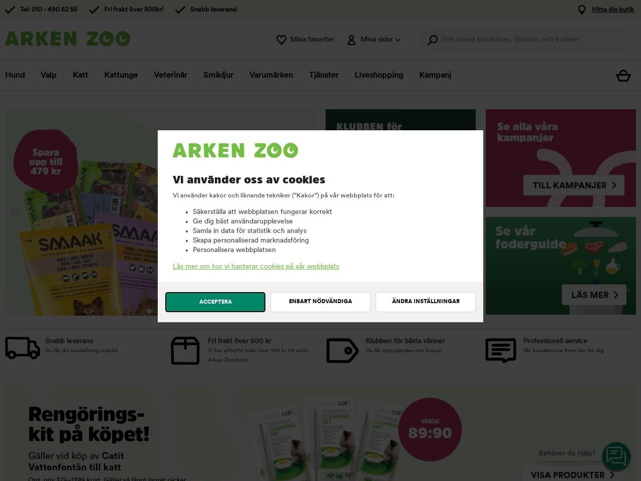Köp Reptilmat Och Terrarieinredning Hos Arken Zoo!