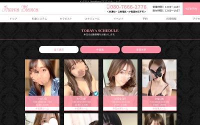 Screenshot of www.aroma-blanca.com