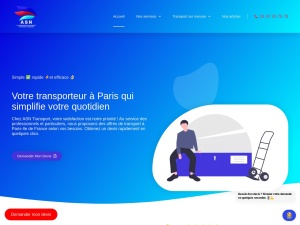 ASN Trans-logistic, service de transport express efficace à Paris et en Île-de-France