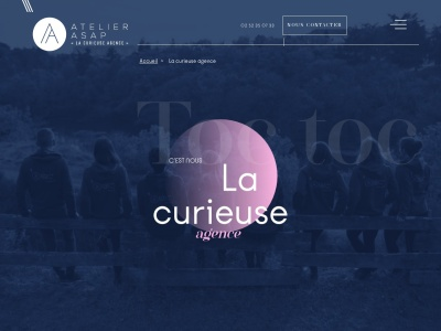 Agence de communication à Angers : Atelier Asap, agence de publicité décalée dans le 49