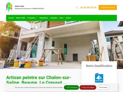 Profitez des services de la meilleure entreprise de peinture à Chalon-sur-Saône et dans les enrvions