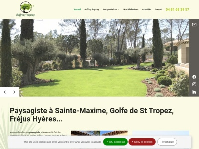 Votre paysagiste expert à Sainte-Maxime vous propose des prestations sur mesure pour votre jardin.