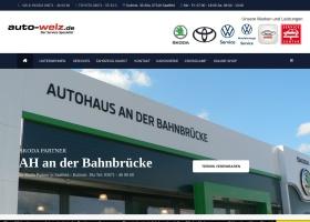 Screenshot of www.auto-welz.de