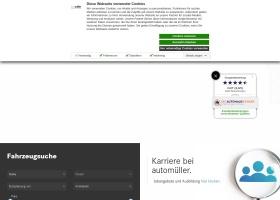 Screenshot of www.automueller.de