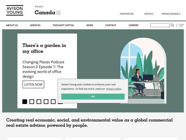 Screenshot of www.avisonyoung.ca