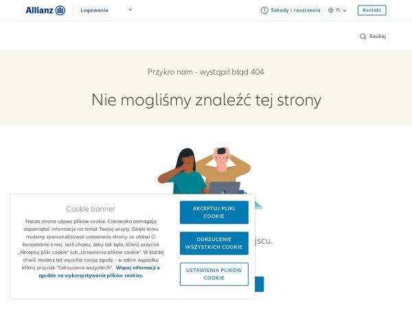 Screenshot of www.aviva.pl