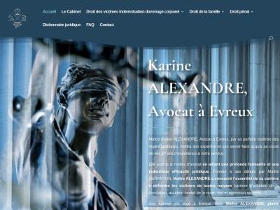 Maître Karine ALEXANDRE, une avocate brillante au service des victimes de toute nature à Évreux