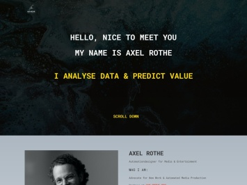 Screenshot of www.axelrothe.com