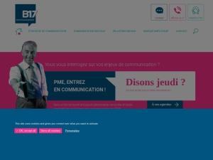 Agence B17 : votre agence de communication digne de confiance à Nantes pour vous aider