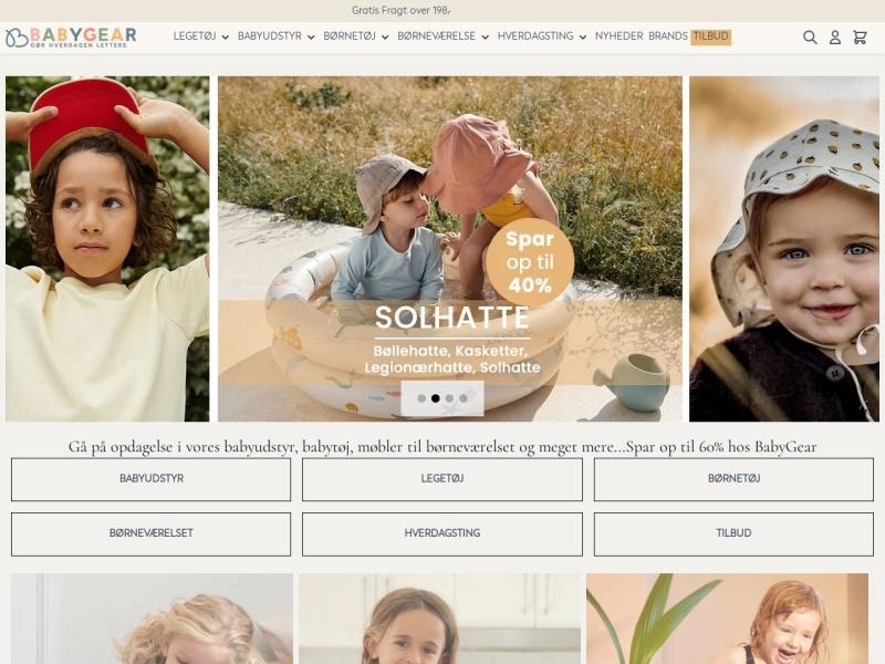 Babygear.dk webshop