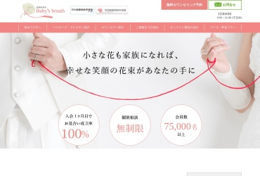 Screenshot of www.babysbreath55.com