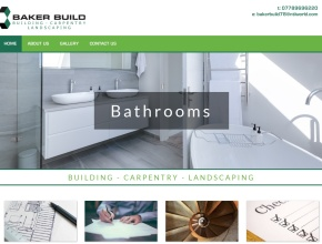 Screenshot of www.bakerbuild.co.uk