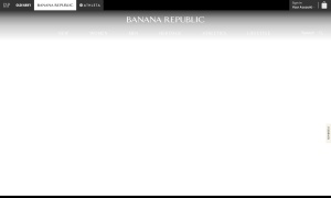 BANANA REPUBLICウェブサイトサムネイル