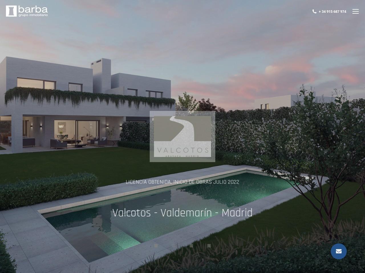 Captura de pantalla de www.barba.es