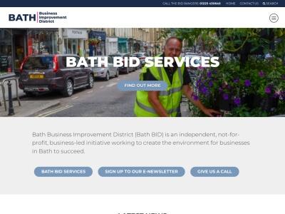 Screenshot of www.bathbid.co.uk