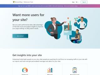 Screenshot of www.bing.com
