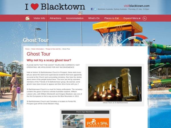 Screenshot of www.blacktownaustralia.com.au