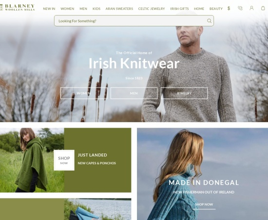 Screenshot of www.blarney.com