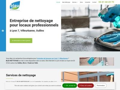 Bleu Nettoyage: Entreprise de nettoyage professionnel à Lyon 7 et dans les localités voisines